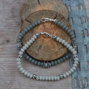 Armband facet taupe
